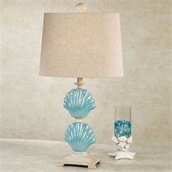 Adderley Table Lamp Turquoise