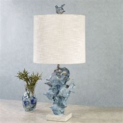 Zapara Table Lamp Steel Blue