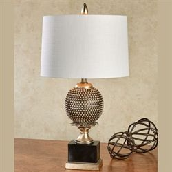 Albertine Table Lamp Black/Gold