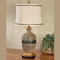 Paloma Table Lamp Multi Metallic