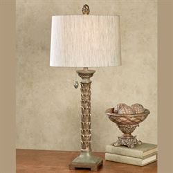 Azzedine Table Lamp Champagne Gold