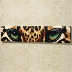 Leopard Eyes Canvas
