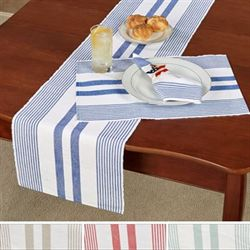 Summer Stripe Table Runner 13 x 72