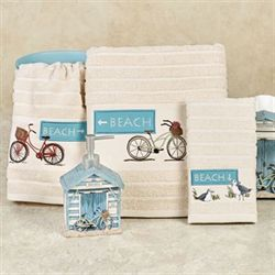 Beach Cruiser Bath Towel Set Sand Bath Hand Fingertip