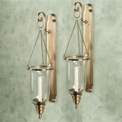 Brookville Wall Sconce Satin Brass
