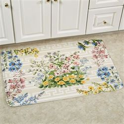 Summer Bouquet Rectangle Mat Natural 111 x 3