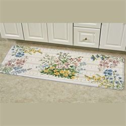 Summer Bouquet Runner Mat Natural 20 x 55