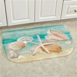 Horizon Shells Slice Mat Multi Cool 30 x 18