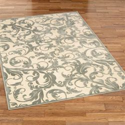 Anastasia Rectangle Rug Cream