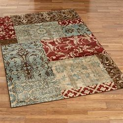 Timeworn Indulgence Rectangle Rug Multi