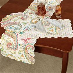 Adalynn Table Runner Multi Warm 14 x 51