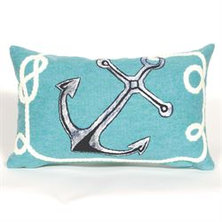 Marina Pillow Turquoise Rectangle