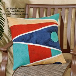 Nautical Flags Indoor Outdoor Pillow By Liora Manne