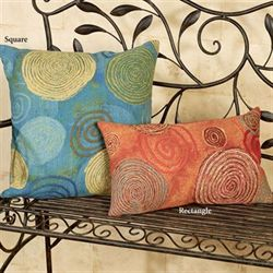 Graffiti Swirl Pillow Rectangle