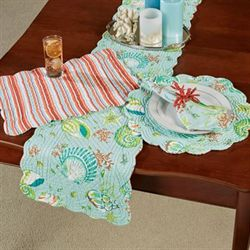Laguna Breeze Table Runner Multi Cool 14 x 51