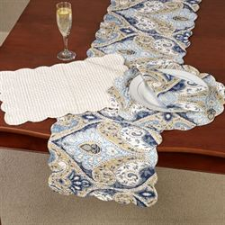 Nazima Table Runner Multi Cool 14 x 51