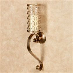 Soren Hurricane Wall Sconce Antique Gold Each