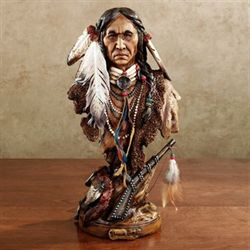 Medicine Man Table Sculpture Multi Earth