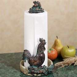 Rooster Harvest Paper Towel Holder