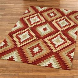Arroyo Rectangle Rug Multi Warm