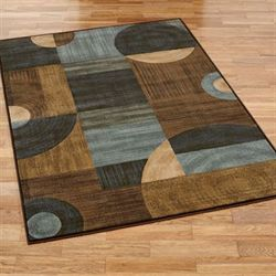 Modern Motions Rectangle Rug