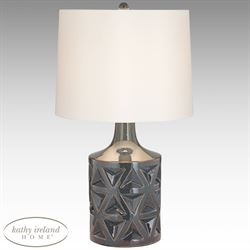 Starburst Table Lamp Gray