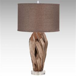 Majestic Table Lamp Mocha