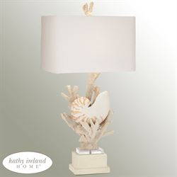 Hanauma Bay Table Lamp Natural