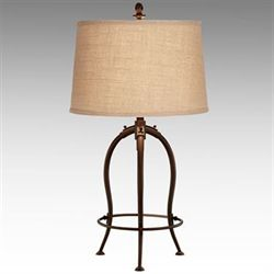 Benjamin Table Lamp Rustic Bronze