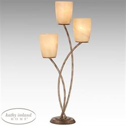 Metro Plaza Uplight Table Lamp Bronze