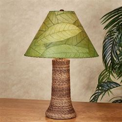 Loja Tropical Table Lamp Green