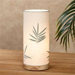 Bamboo Leaf Accent Lamp Natural