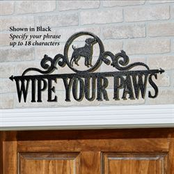 Occasions Personalized Wall Art Sign Dog