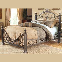 Monica Bed Frame Bronze