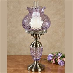 Eleanora Hobnail Table Lamp Lavender