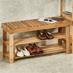 Natural Elements Bamboo Bench
