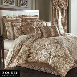 Stafford Comforter Set Cocoa