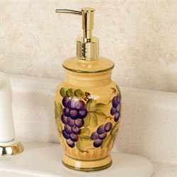 Bella Grapes Lotion Soap Dispenser Gold