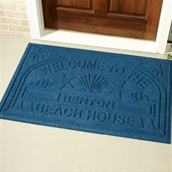 Welcome Beach Personalized Doormat 44 x 30