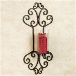 Loreanne Wall Sconce Dark Brown