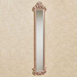 Carolina Scroll Wall Mirror Panel Rose Gold