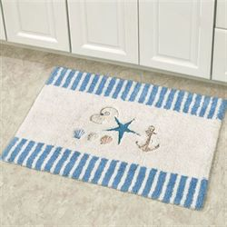 Antigua Bath Rug Off White 20 x 30