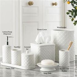 scala ivory porcelain bath accessories - White Bathroom Accessories Ceramic
