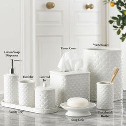 Scala Lotion Soap Dispenser Ivory
