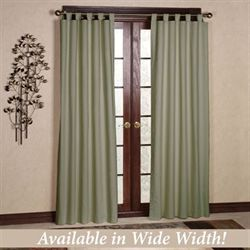 Weathermate Solid Tab Curtain Pair
