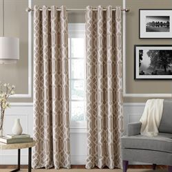 Harpar Grommet Curtain Panel