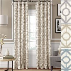 Crackle Grommet Curtain Panel