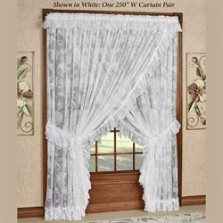 Maison Priscilla Wide Curtain Pair