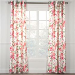 Ardynne Rose Grommet Curtain Panel Light Cream
