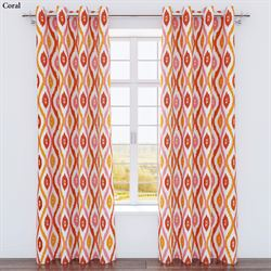 Luna Grommet Curtain Panel 54 x 84